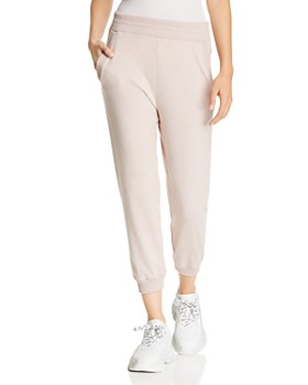 Enza Costa - Cropped Jogger Pants
