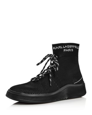 KARL LAGERFELD PARIS Men's Knit High