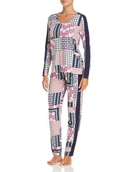 Josie - Slumber Party Printed Pajama & Eye Mask Set