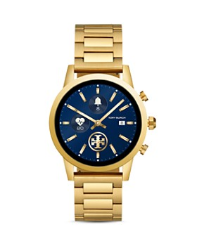 Tory Burch - The Gigi Yellow Gold-Tone Touchscreen Smartwatch, 40mm