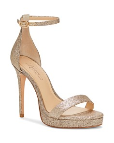 Imagine VINCE CAMUTO - Women's Preslyn Open Toe Leather Platform High-Heel Sandals