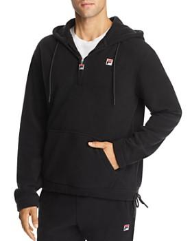 FILA - Zane Quarter-Zip Hooded Fleece Sweatshirt