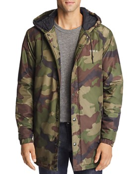OBEY - Singford Camouflage-Print Parka
