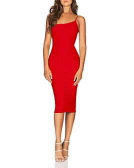 Nookie - Penelope One-Shoulder Midi Dress - 100% Exclusive