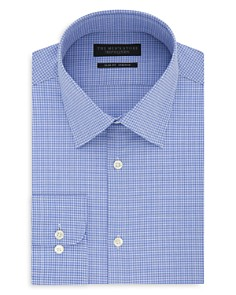 The Men's Store at Bloomingdale's Micro-Check Slim Fit Dress Shirt_0