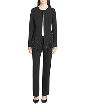 Calvin Klein - Feather Hem Jacket