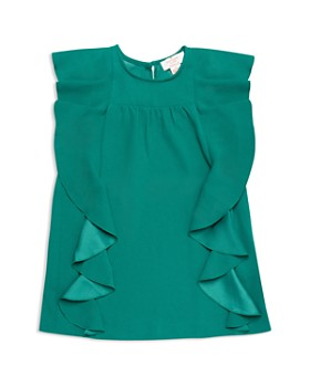 kate spade new york - Girls' Cascading Ruffles Dress - Little Kid