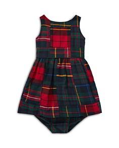 Ralph Lauren - Girls' Tartan Patchwork Cotton Dress & Bloomers Set - Baby