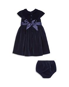 Ralph Lauren - Girls' Velvet Dress & Bloomers Set - Baby
