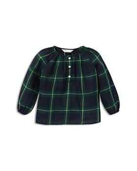 Ralph Lauren - Girls' Tartan Cotton Top - Baby