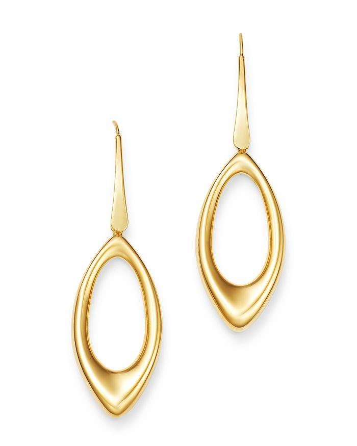 Bloomingdale's - 14K Yellow Gold Open Teardrop Earrings - 100% Exclusive