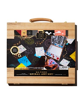 FAO Schwarz - Spiral Art Set - Ages 8+
