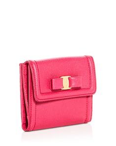 Salvatore Ferragamo - Vara Leather French Continental Wallet