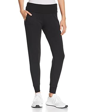 Beyond Yoga Fold-Over Fleece Sweatpants-Women