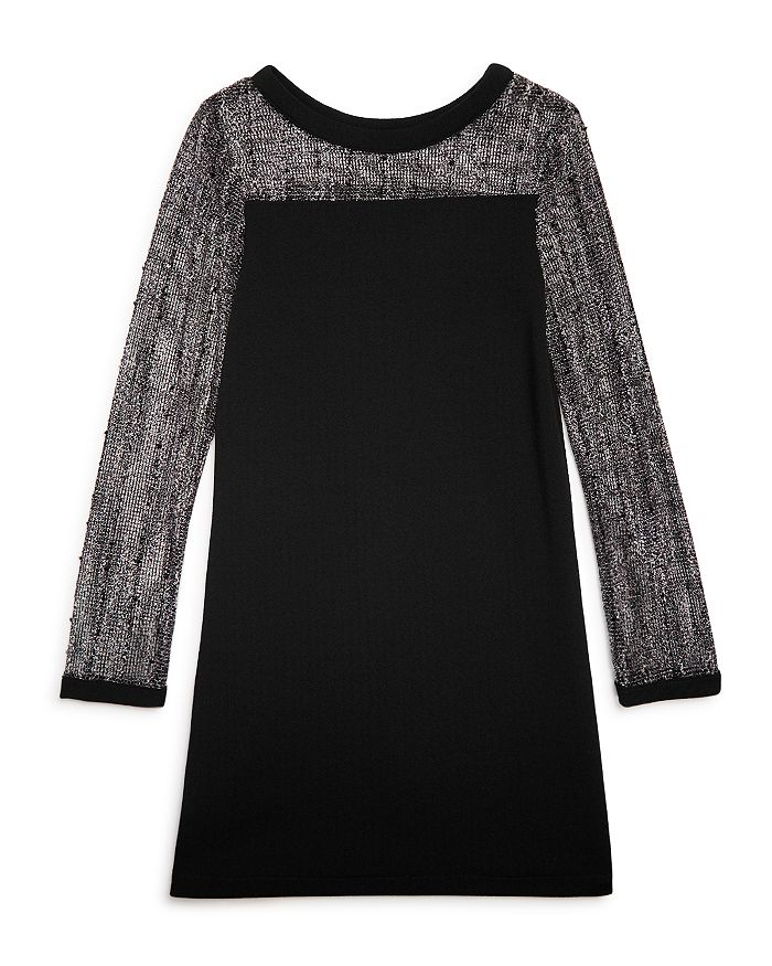 Sally Miller - Girls' Luca Contrast Crochet Dress - Big Kid