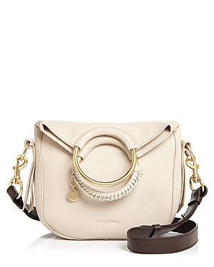See By Chloé Leathers SEE BY CHLOE MONROE SMALL LEATHER CROSSBODY