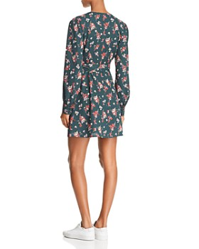 Lost and Wander - Floral-Print Wrap Dress - 100% Exclusive