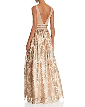 Avery G - Embellished Brocade Ball Gown