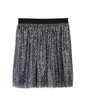 4eca6a7f236 Miss Behave - Girls  Seanna Metallic Mesh Skirt - Big Kid