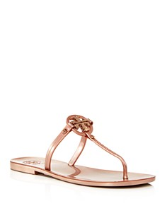 Tory Burch - Mini Miller Jelly Flat Thong Sandals