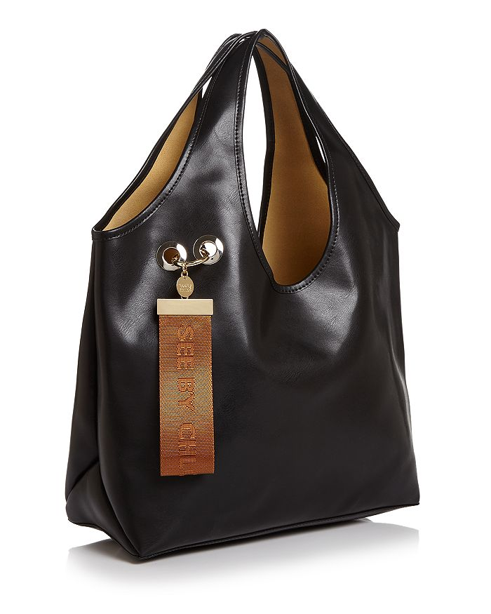 699ae917e46 See by Chloé Jay Large Logo Tag Leather Tote | Bloomingdale's