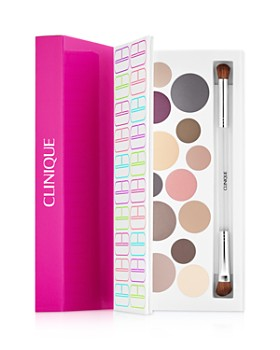 Clinique - Party Eyes Palette & Brush Gift Set ($145.50 value)