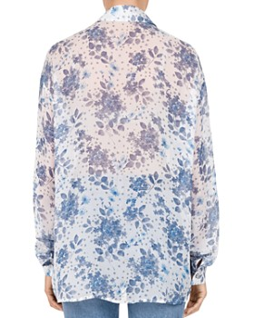The Kooples - Jazz Flowers Silk Shirt