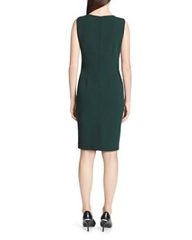 Calvin Klein - Beaded V-Neck Sheath Dress