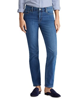Ralph Lauren - Modern Straight Curvy Jeans in Ocean Blue