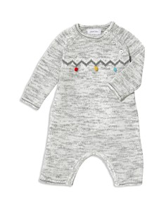 Angel Dear - Unisex Pom Knit Coverall - Baby