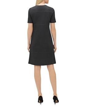 Lafayette 148 New York - Demi Partial-Zip Paneled Dress
