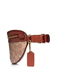 COACH - Coated Canvas Signature Belt Bag