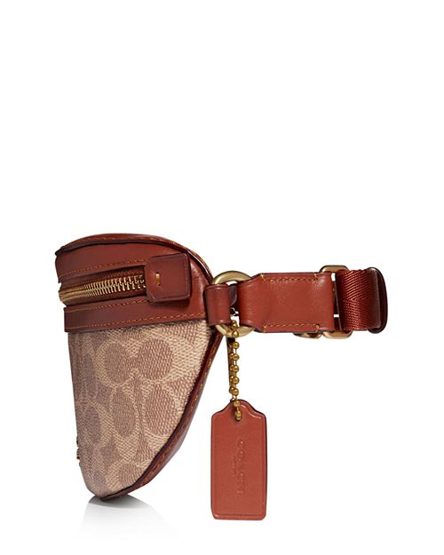 Coach Coated Canvas Signature Belt Bag