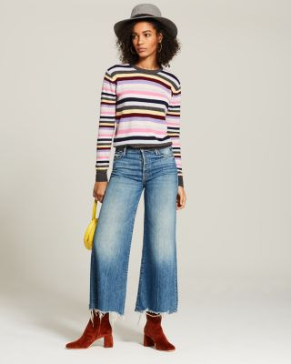 Striped Cashmere Sweater - 100% Exclusive