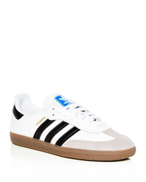 Adidas Men's Samba Og Leather Lace-Up Sneakers