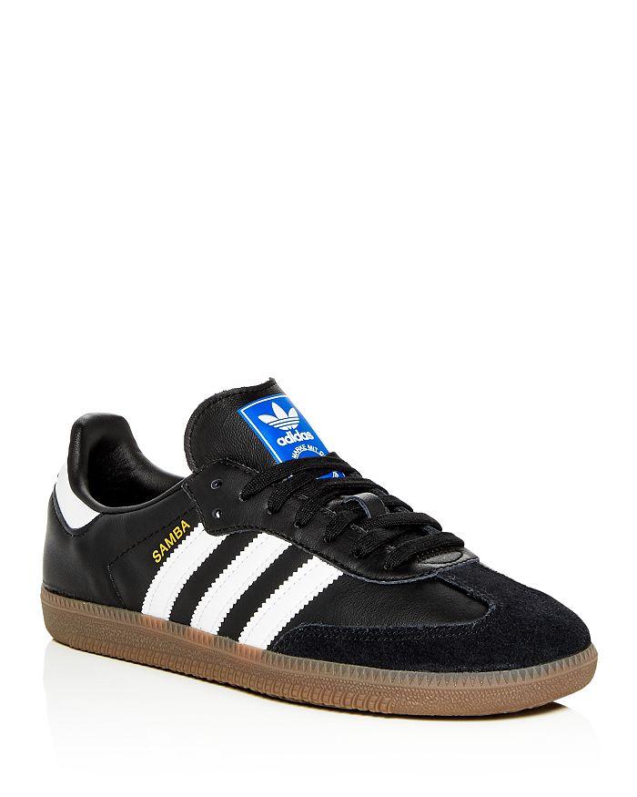 watch 19b3e 5fa46 Adidas - Men s Samba OG Leather Lace-Up Sneakers
