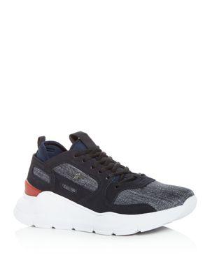 CREATIVE RECREATION Men'S Carrara Denim Low-Top Sneakers in Gray