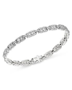 Bloomingdale's - Diamond Link Bracelet in 14K White Gold, 2.0 ct. t.w. - 100% Exclusive