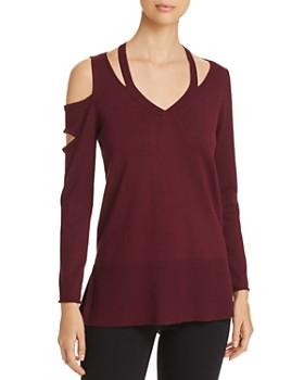 Love Scarlett - Asymmetric Cutout Sweater