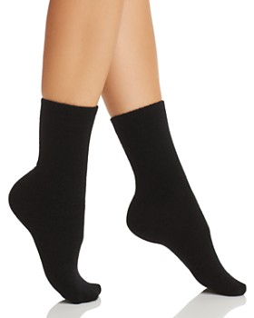 C by Bloomingdale's - Cashmere Stretch Boot Socks - 100% Exclusive