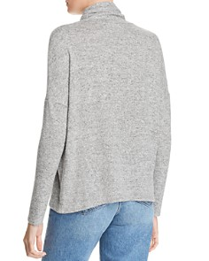 AQUA - Drop-Shoulder Turtleneck Sweater - 100% Exclusive