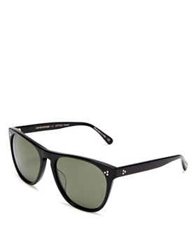 Oliver Peoples - Women's Daddy B Polarized Square Sunglasses, 58mm