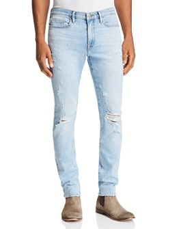 FRAME - L'Homme Skinny Fit Jeans in Tubman - 100% Exclusive