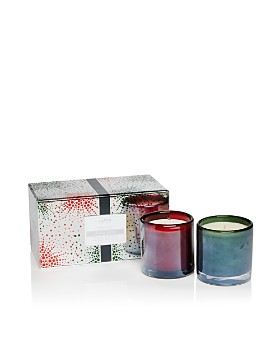 LAFCO - Crimson Berry & Winter Balsam Holiday Candle Set