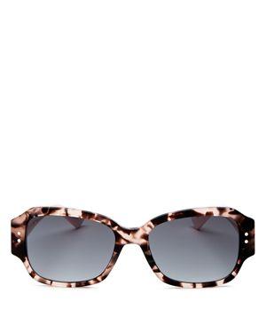 Studs5 54Mm Sunglasses - Havana Light Pink