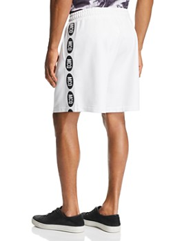 McQ Alexander McQueen - Logo-Stripe Slouchy Sweat Shorts