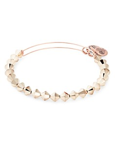 Alex and Ani - Champagne Color Expandable Beaded Bracelet