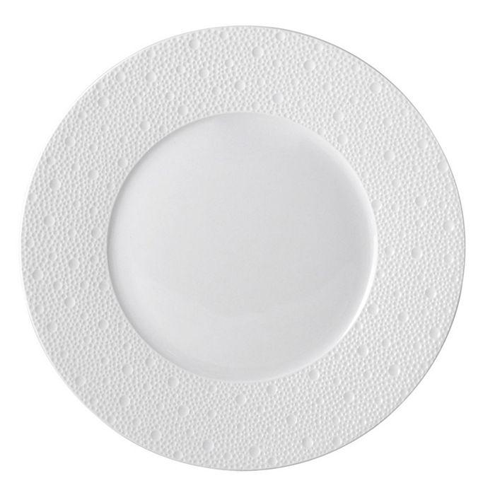 Bernardaud - Ecume White Dinner Plate