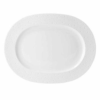Bernardaud - Ecume White Oval Platter