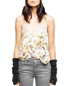 Zadig & Voltaire - Christy Camo Camisole Top